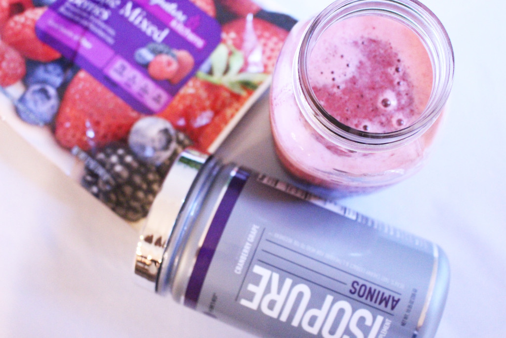 Very Berry Cherry Post-Workout Smoothie