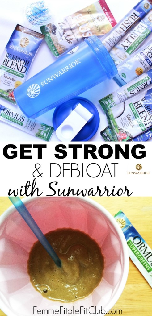 Get Strong and Debloat with Sunwarrior