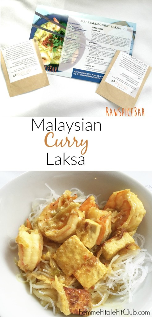 Malaysian Curry Laksa recipe by RawSpiceBar