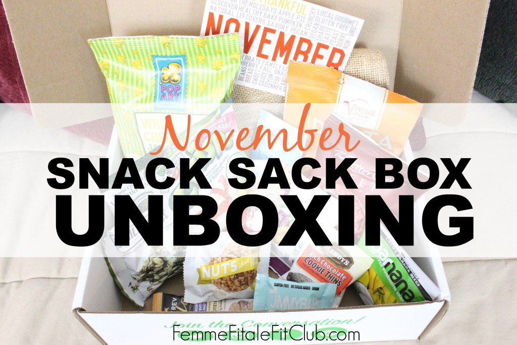 November Snack Sack Box Unboxing