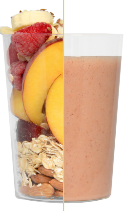 Daily Harvies Peached for Me Blend by Daily Harvest