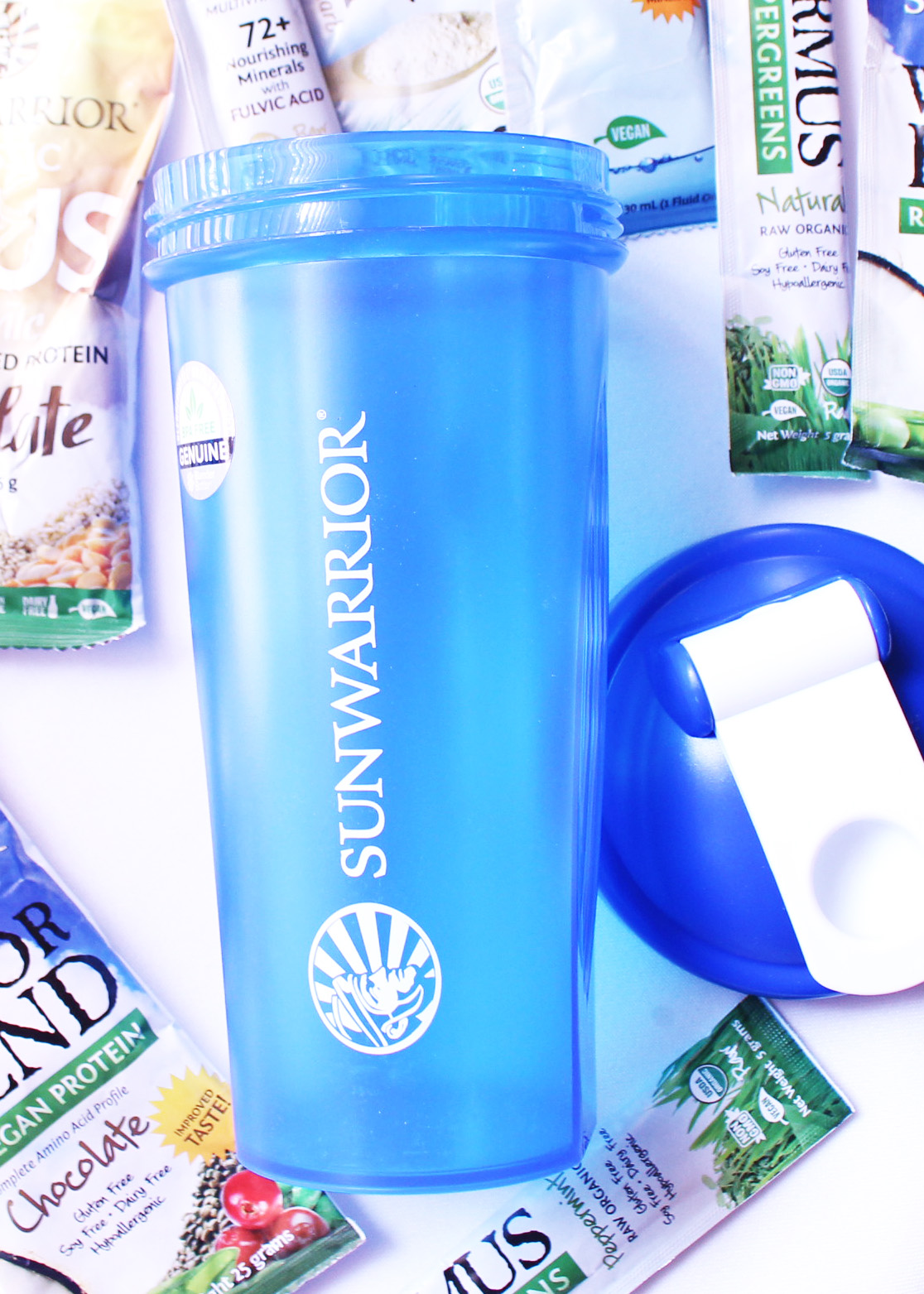 Sunwarrior Shaker Bottle