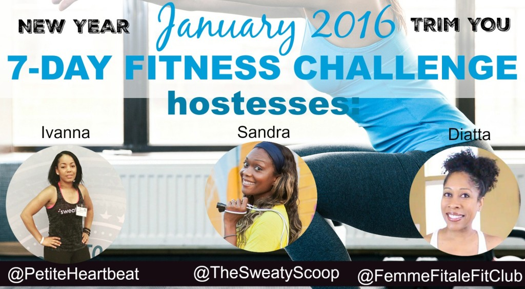 January 2016 New Year Trim You 7-Day Fitness Challenge Kickoff Party
