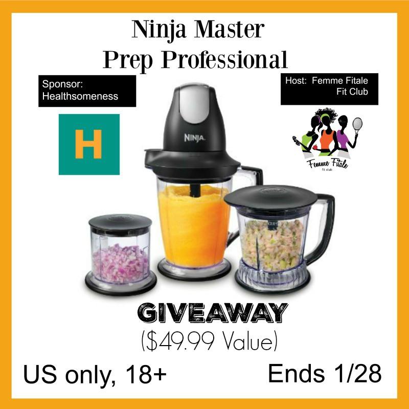 Nutribullet Master Prep Professional giveaway