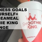 Set Fitness Goals For Yourself + #ChangeAMeal Smoothie King Challenge