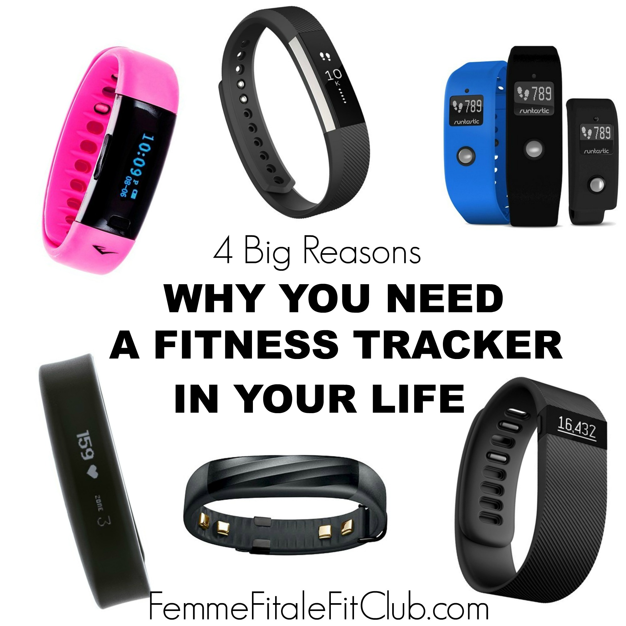 4 Big Reasons Why You Need a Fitness Tracker In Your Life