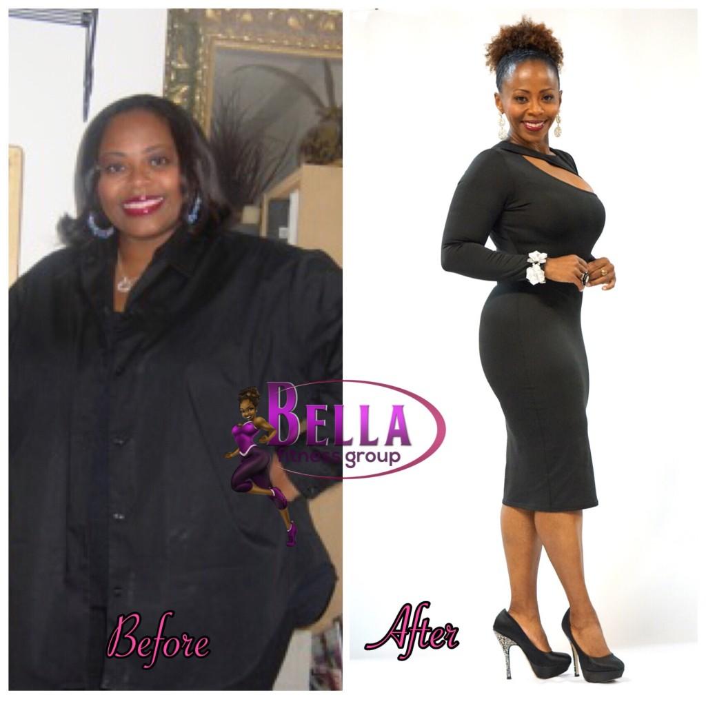 Chaunda Walls of Bella Fitness Group 3