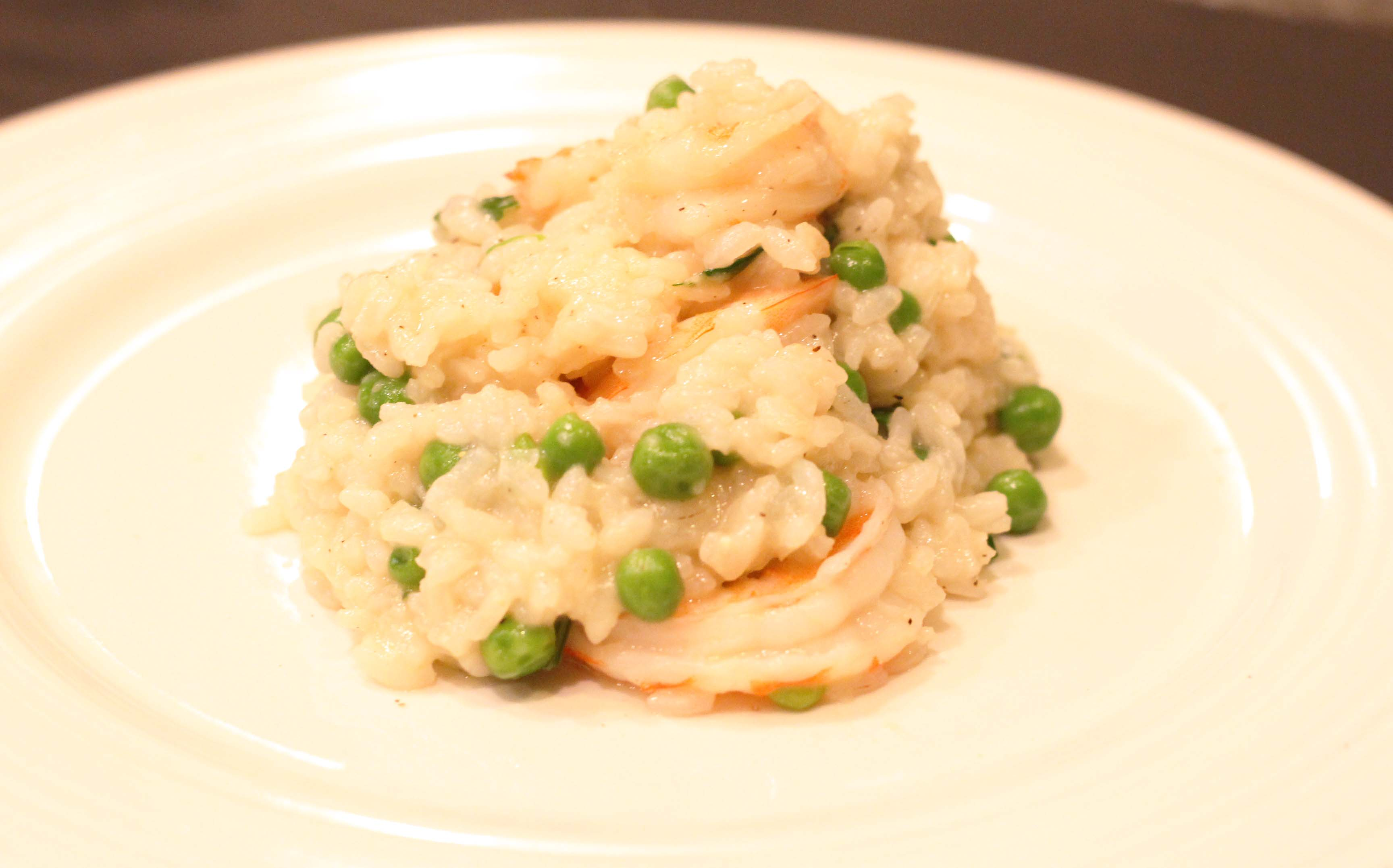 Parmesan Shrimp Risotto by ChopBox