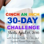 April Cinch An Inch Challenge