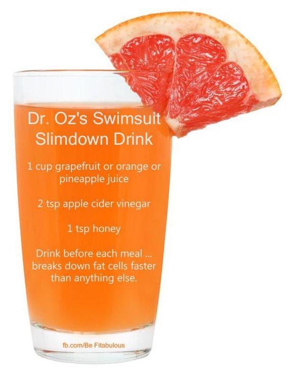 Dr. Oz ACV Detox Drink