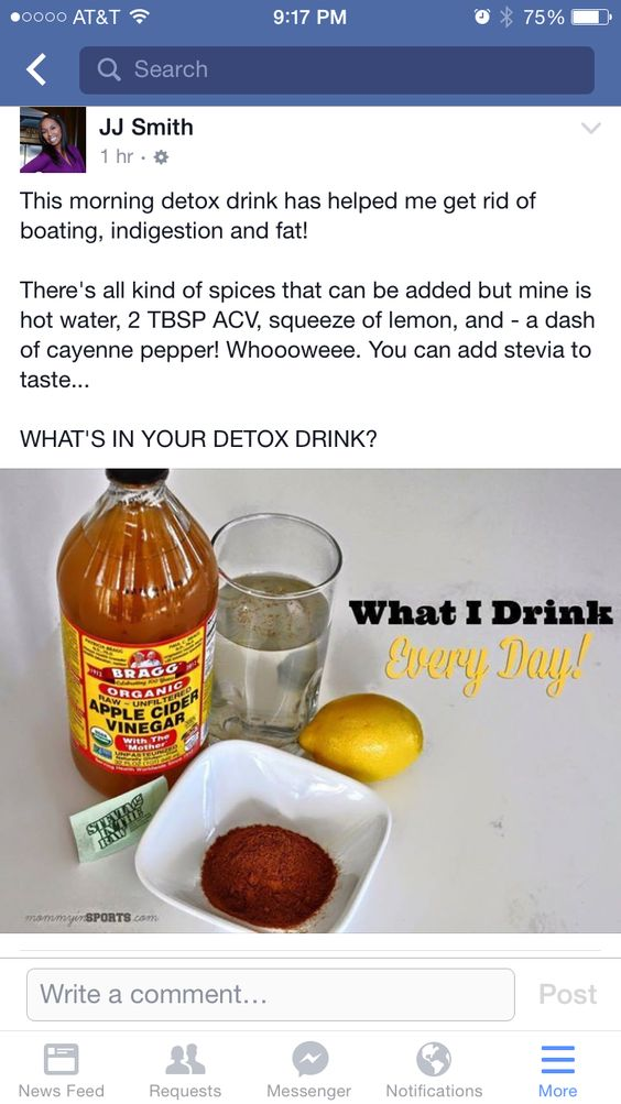 JJ Smith ACV Detox Drink