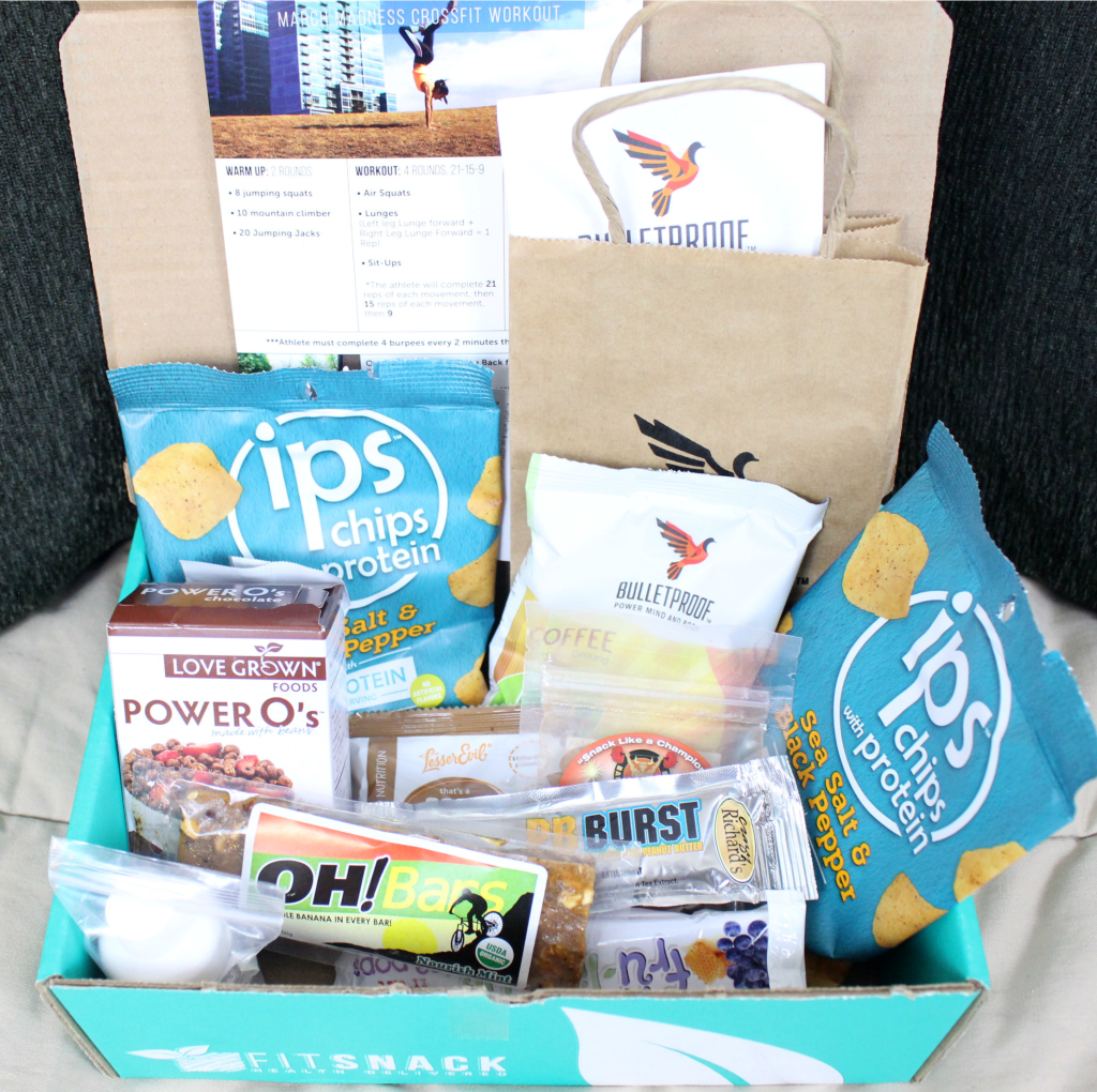 March Fit Snack Box