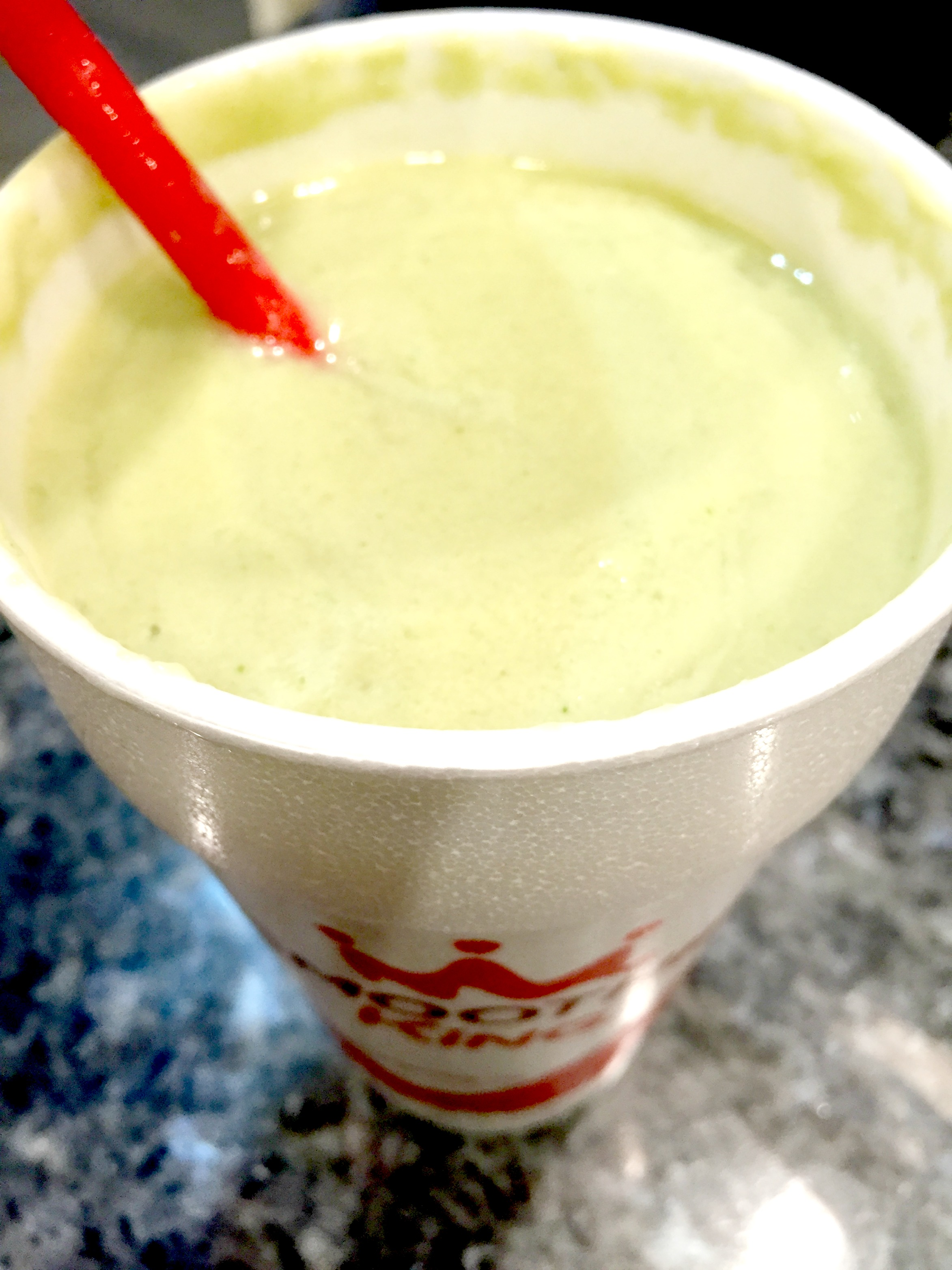 Smoothie King Veggie Avocado Pineapple