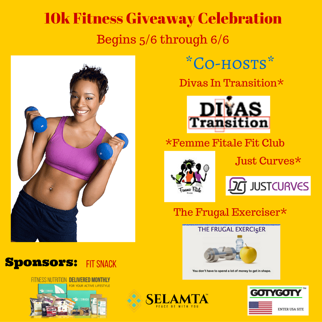 10k Fitness Giveaway Celebration image (1)