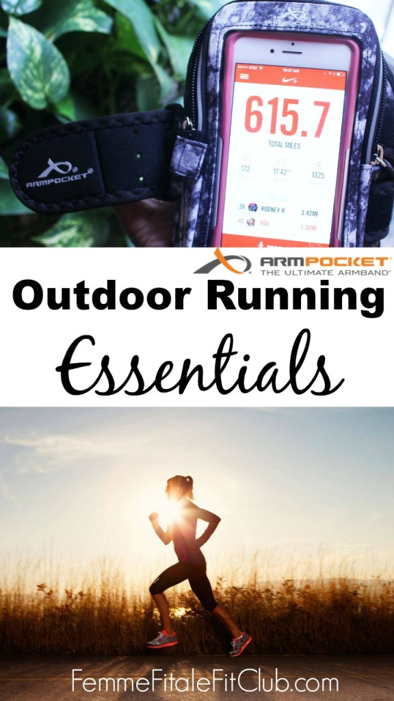 Outdoor Running Essentials and Armpocket Giveaway
