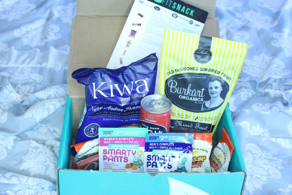 June 2016 Fitsnack Box