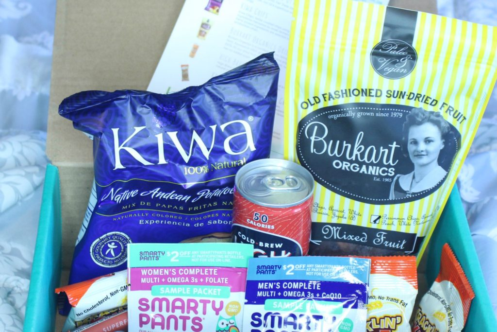 June 2016 Fitsnack Box cropped