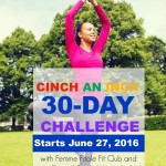 June 30-Day Cinch An Inch Fitness and Nutrition Challenge [REGISTRATION CLOSED]