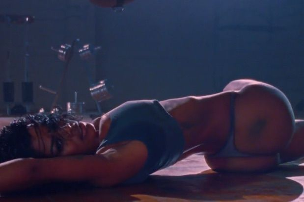 Teyana Taylor in Kanye West Fade video