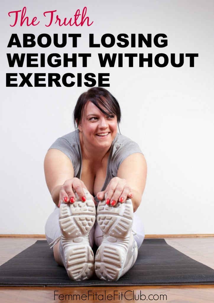 The Truth About Losing Weight Without Exercise banner