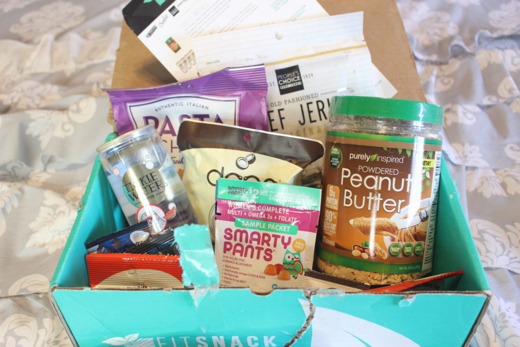 November 2016 Fit Snack Box