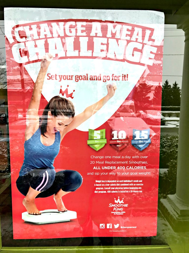 Change A Meal Challenge by Smoothie King