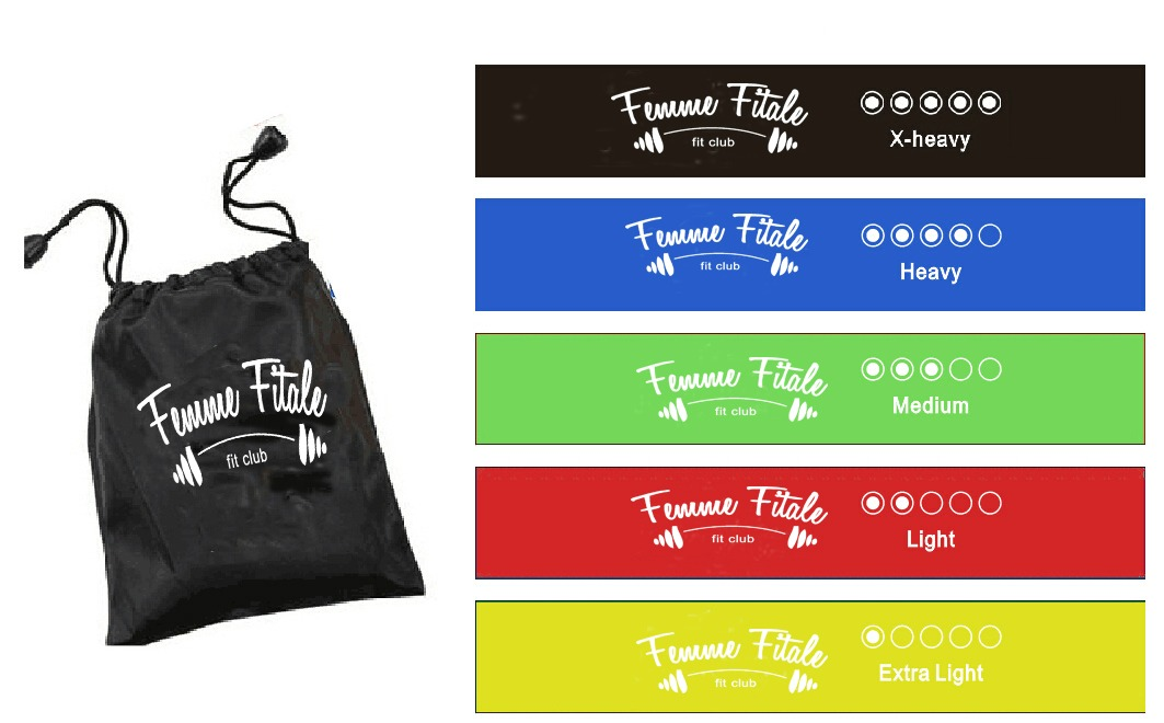 FFFC Mini Loop Resistance Bands banner