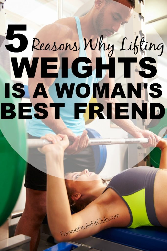 5 reasons why lifting weights is a womans best friend