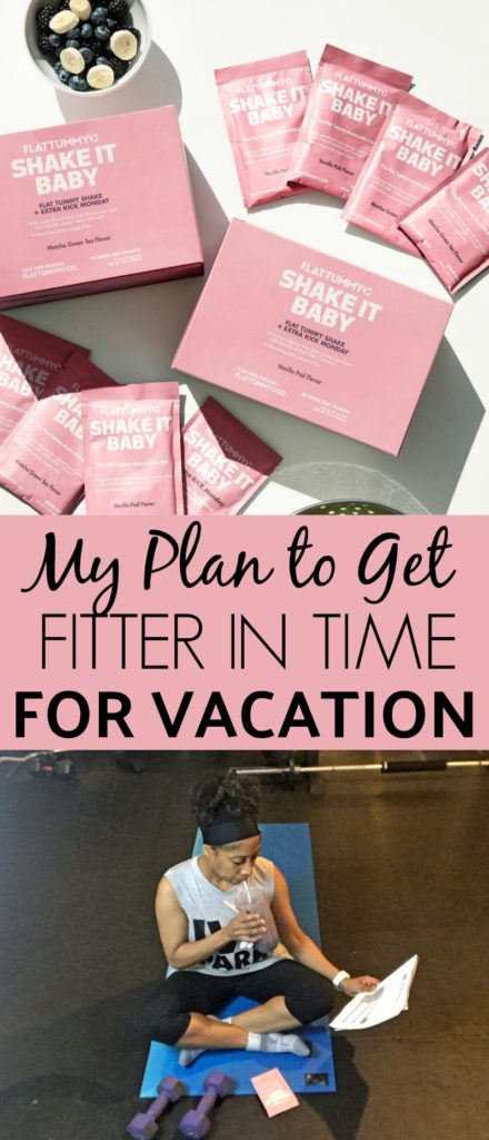 my plan to get fitter in time for vacation
