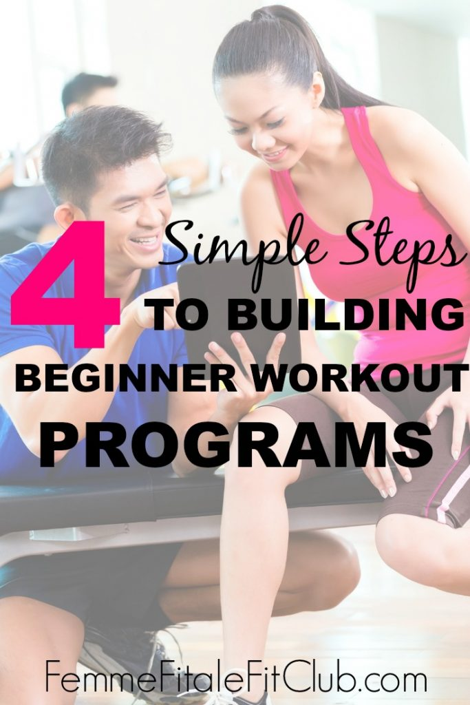 4 Simple Steps to Building Beginner Workout Prgm